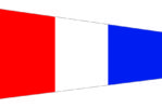 bandiera numero 3 alfabeto nautico