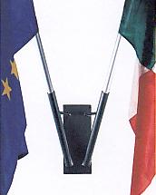 Porta bandiera 2 posti