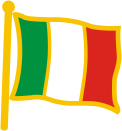 Bandiera da giacca Italia