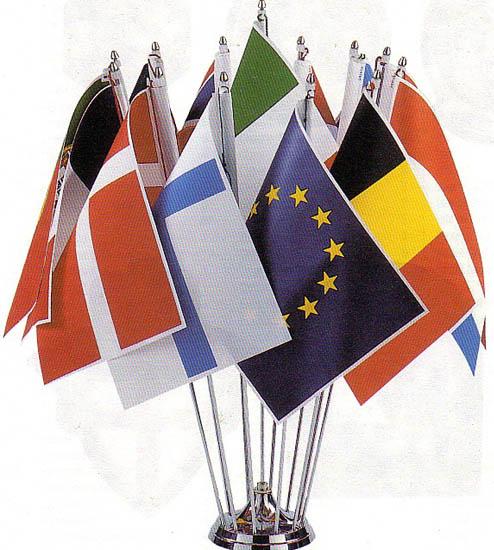 Base da tavolo a 13 posti novali bandiere - Porta bandiere da tavolo ...