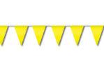 Festone di bandiere giallo