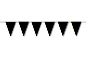 Festone di bandiere nero