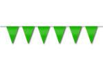 Festone di bandiere verde