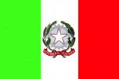 Bandiera Italia Stemma Repubblica