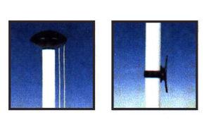 Palo per bandiera in alluminio
