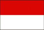 Bandiera del Principato di Monaco