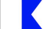 bandiera lettera A