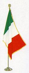 kit da sala bandiera Italia