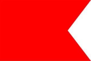 Bandiera Lettera B