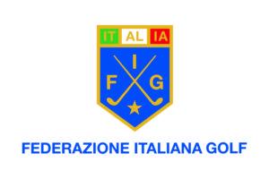 Bandiera federazione italiana golf