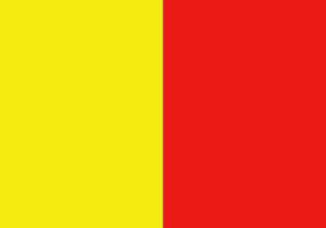 Bandiera giallo rossa