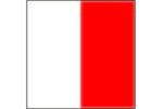 Bandiera lettera H alfabeto nautico