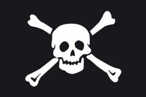 Bandiera Pirata jolly roger