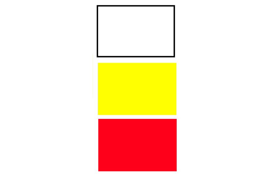 Kit bandiere da spiaggia bandiere di segnalazione balneare - Bandiere bianche a colori ...
