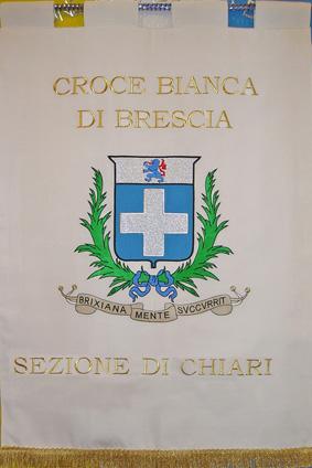 Labaro Croce bianca di Brescia Sezione di Chiari