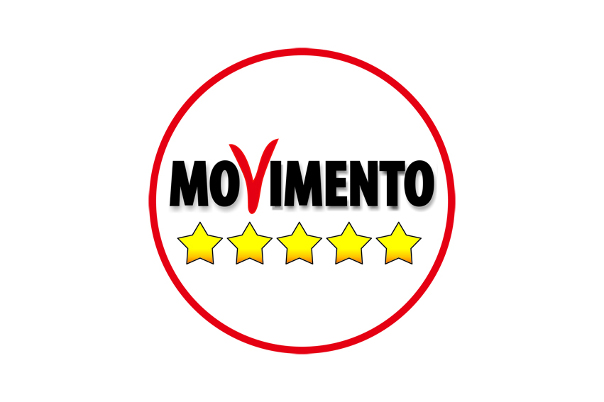 Bandiera movimento cinque stelle vendita novali bandiere for Presidente movimento 5 stelle