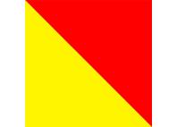 Bandiera lettera o