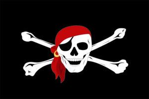 Bandiera pirata bandana