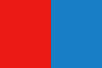 Bandiera rosso azzurra