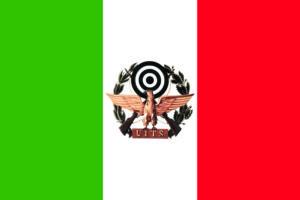 Bandiera uits_unione italiana tiro a segno