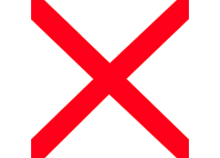 Bandiera Lettera V
